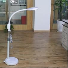 Лампа лупа Led  косметологическая напольная