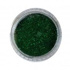 Блестки в баночке Зелёный